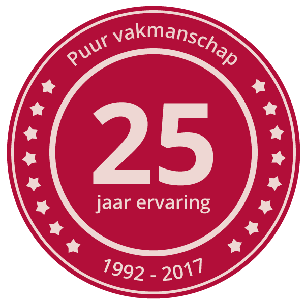 badge 25jaar